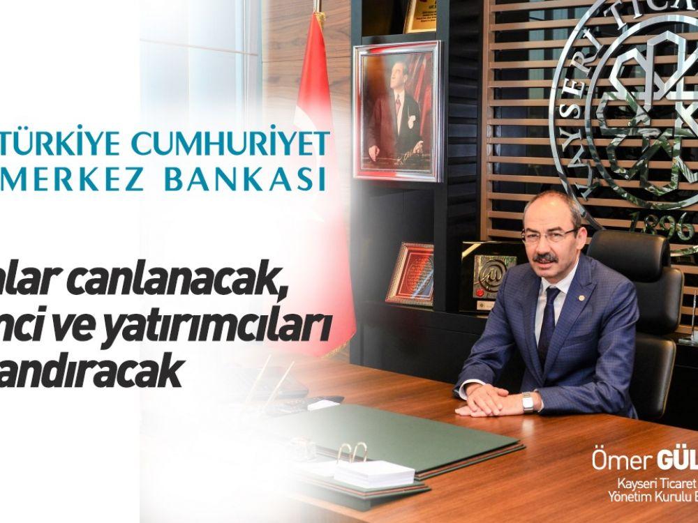 KTO Başkanı Gülsoy: Piyasalar canlanacak, girişimci ve yatırımcıları umutlandıracak