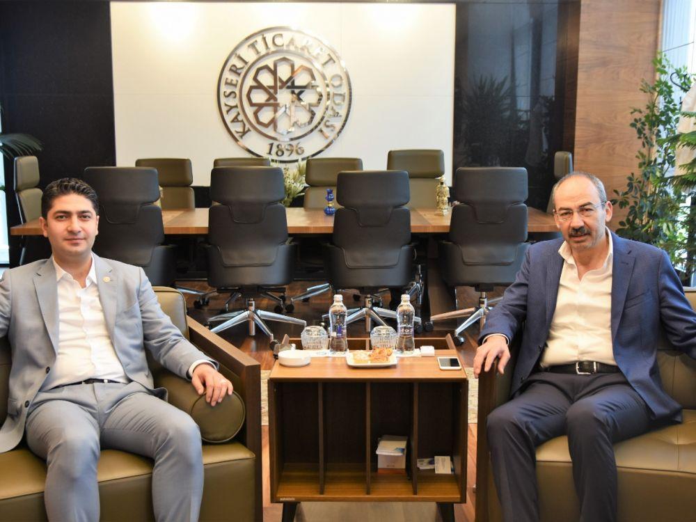 MHP Kayseri Milletvekili İsmail Özdemir'den Odamıza Ziyaret