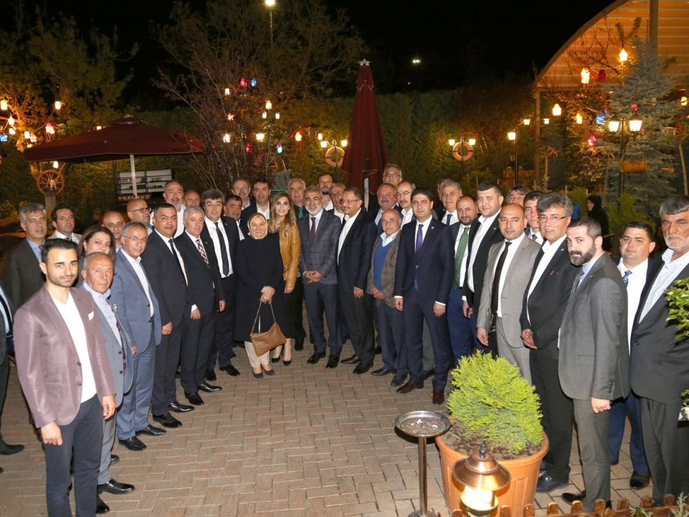 Kayseri İş Dünyası ve Kayseri Milletvekilleri Bir arada