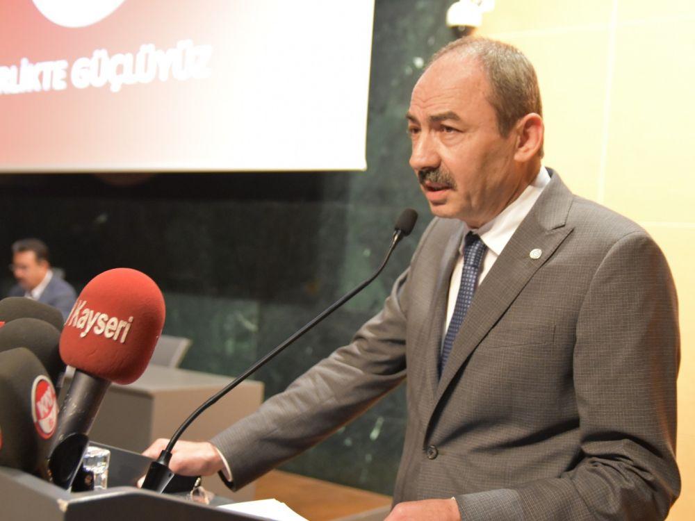 Kayseri Ticaret Odası Ekim Ayı Meclis Toplantısı Gerçekleştirildi